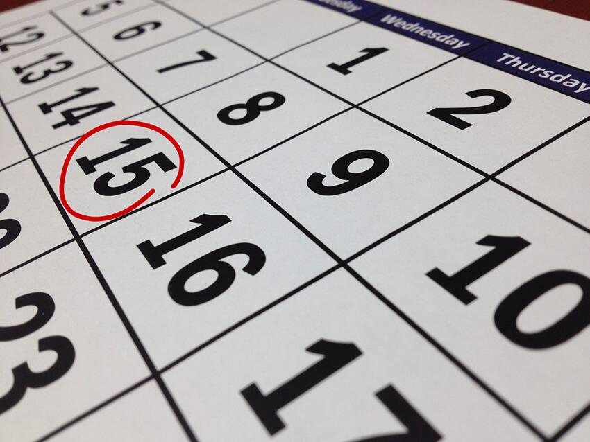 black-calendar-close-up-composition
