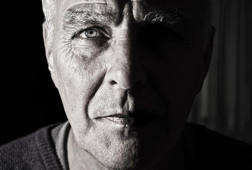 man-face-wrinkle-blue-eye-old